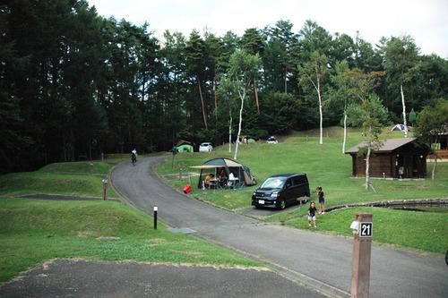 テントサイトの風景3