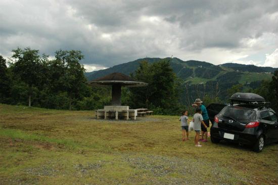 塩沢江戸川荘のキャンプサイト