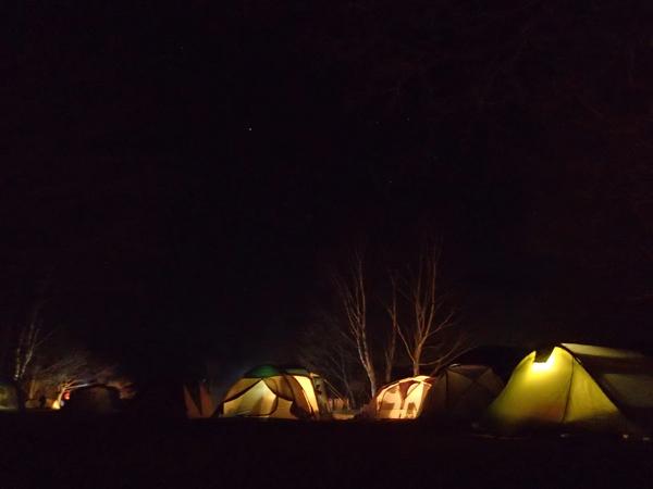 夜の菖蒲ヶ浜