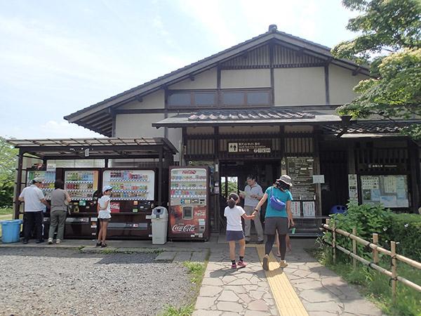田貫湖キャンプ場の管理棟